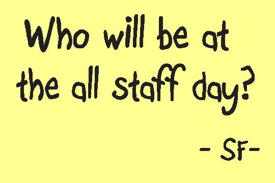 staff day